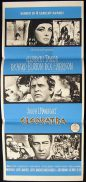 CLEOPATRA Original Daybill Movie Poster 1963 Elizabeth Taylor