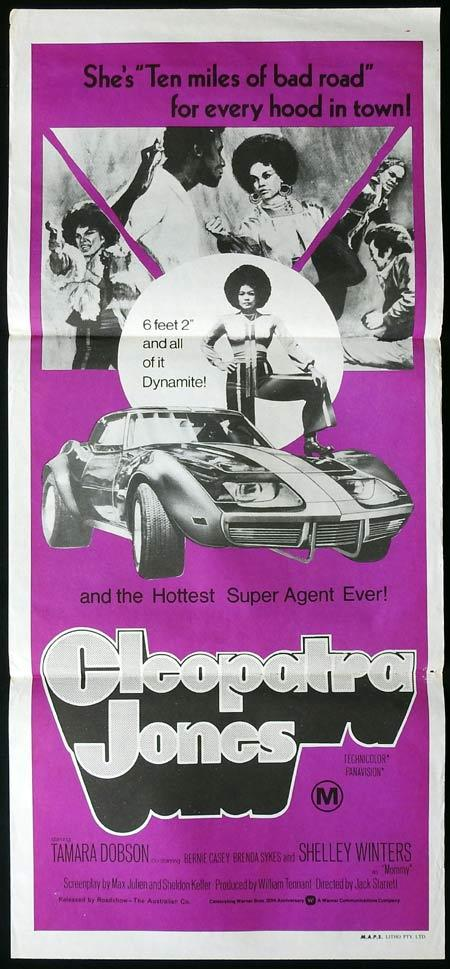 CLEOPATRA JONES Original Daybill Movie Poster Tamara Dobson