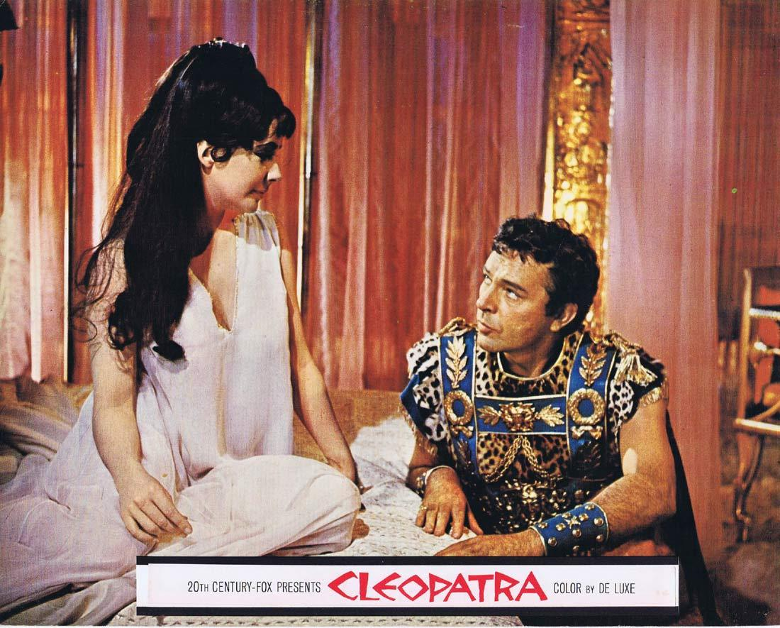 CLEOPATRA Original Roadshow Lobby Card 7 Elizabeth Taylor