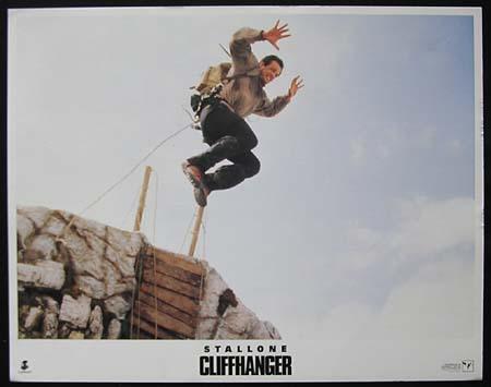 CLIFFHANGER Sylvester Stallone ORIGINAL US Lobby card 2