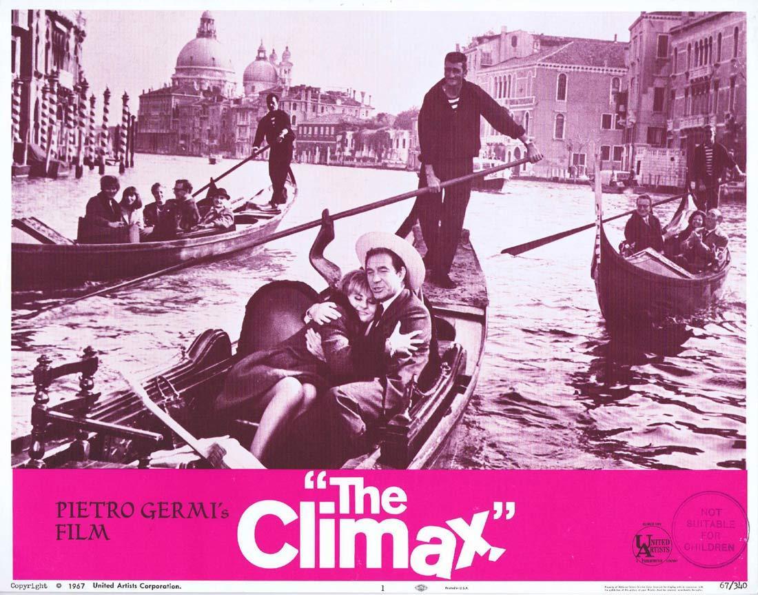 THE CLIMAX Original Lobby Card 1 Ugo Tognazzi Stefania Sandrelli
