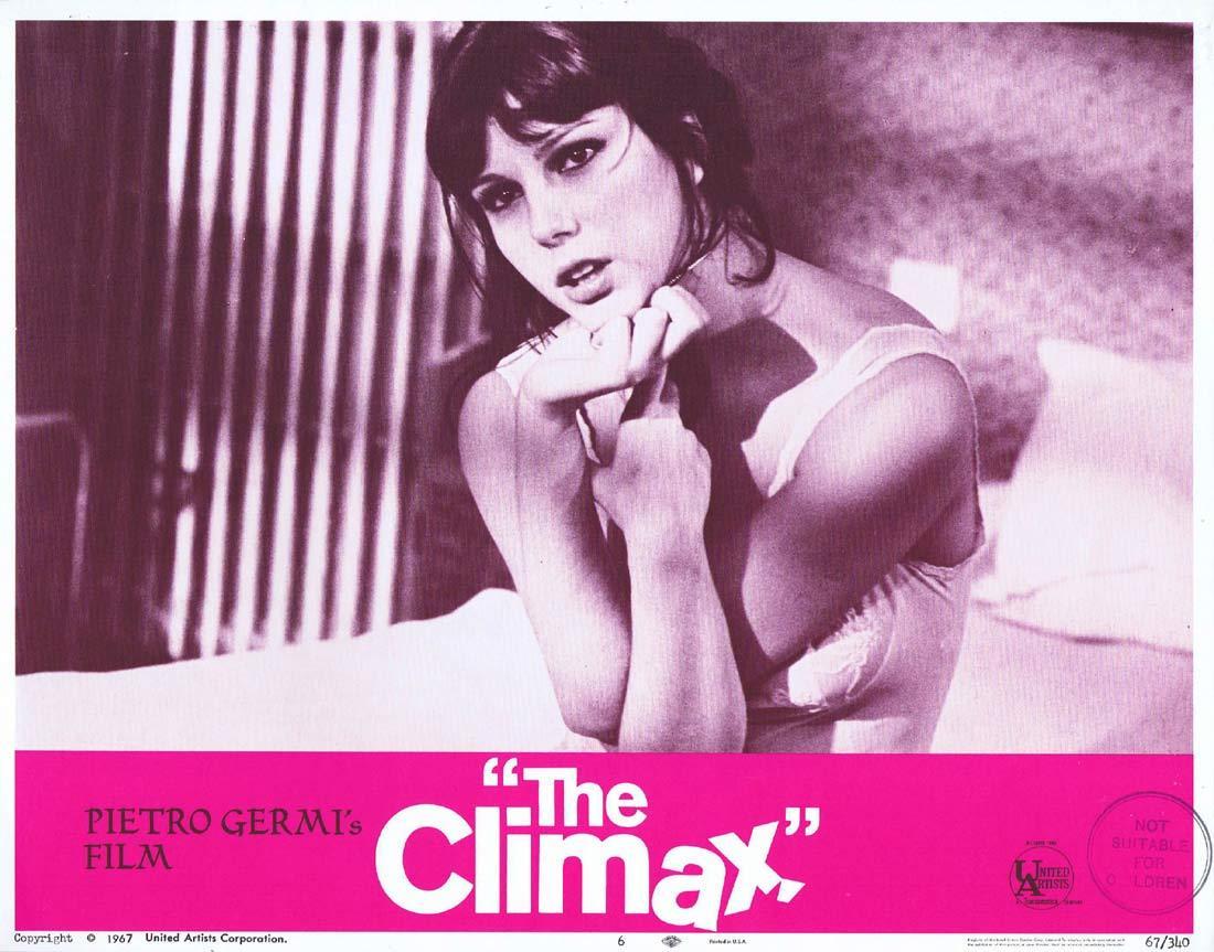 THE CLIMAX Original Lobby Card 6 Ugo Tognazzi Stefania Sandrelli