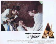 A CLOCKWORK ORANGE Lobby card 4 Stanley Kubrick
