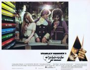 A CLOCKWORK ORANGE Lobby card 5 Stanley Kubrick