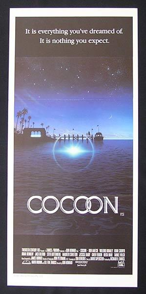 COCOON 1985 Don Ameche Brimley Cronyn Daybill Movie Poster
