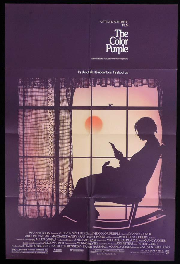 THE COLOR PURPLE One Sheet Movie Poster Whoopi Goldberg