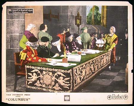 COLUMBUS 1923 Christopher Columbus SILENT Lobby card