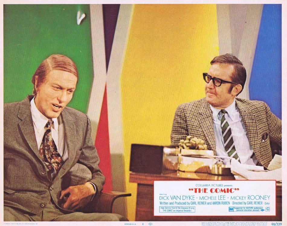 THE COMIC Lobby Card 4 Dick Van Dyke Mickey Rooney Michele Lee