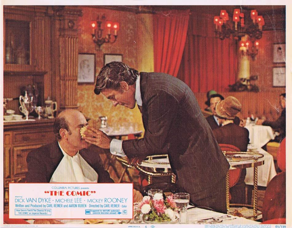 THE COMIC Lobby Card 6 Dick Van Dyke Mickey Rooney Michele Lee