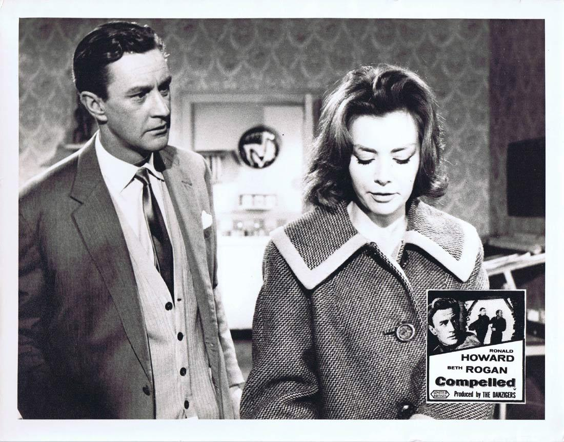 COMPELLED Original Australian Lobby Card 4 Ronald Howard Beth Rogan