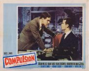 COMPULSION Lobby Card 4 Orson Welles Diane Varsi Dean Stockwell