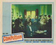 COMPULSION Lobby Card 8 Orson Welles Diane Varsi Dean Stockwell