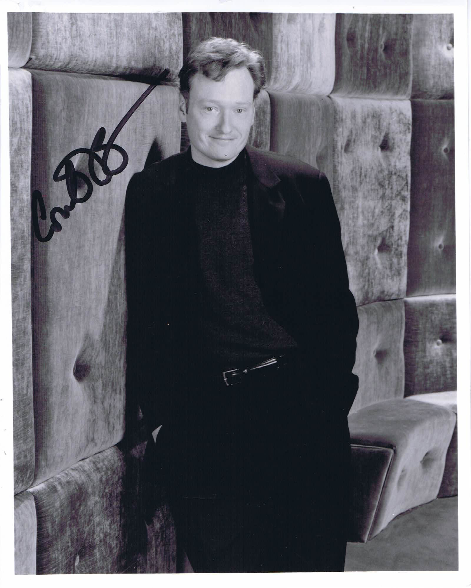 CONAN O'BRIEN Autograph 8 x 10 Photo