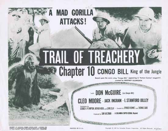 Congo Bill King of the Jungle (1957r) A Columbia Super Serial