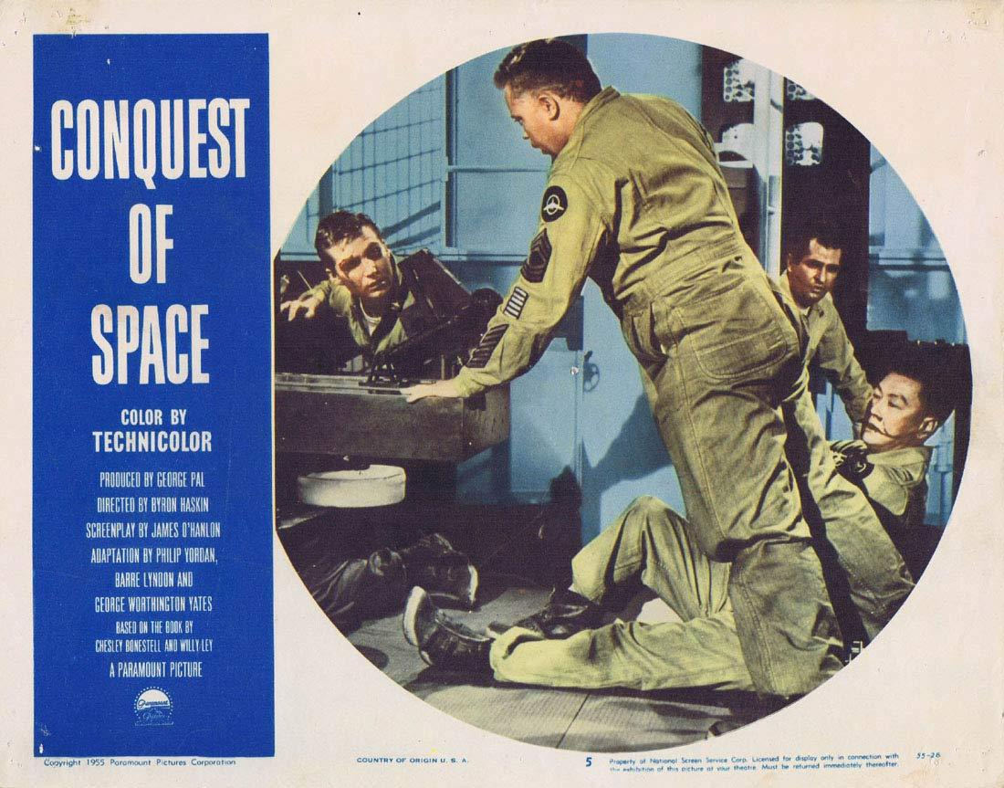 CONQUEST OF SPACE George Pal Sci Fi Lobby card 5