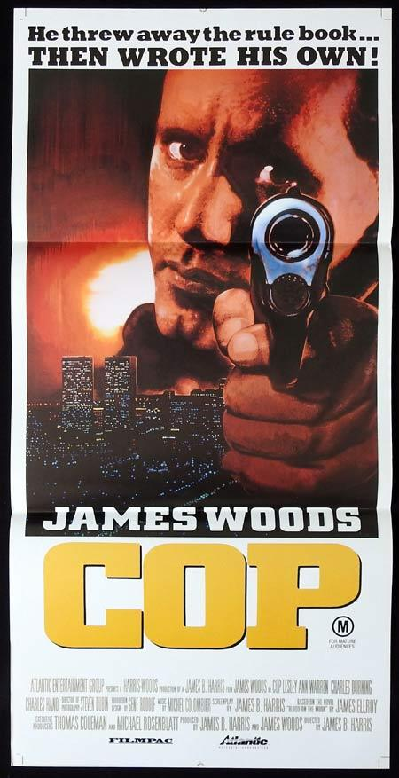 COP Original Daybill Movie Poster James Woods Lesley Ann Warren Charles Durning
