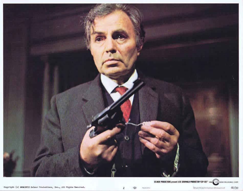 COP OUT Lobby Card 4 James Mason Stranger In The House