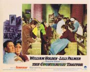THE COUNTERFEIT TRAITOR Lobby Card 4 William Holden Lilli Palmer Hugh Griffith