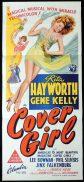 COVER GIRL Original Daybill Movie Poster Rita Hayworth Gene Kelly