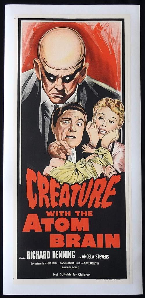 Creature with the Atom Brain, Edward L. Cahn, Richard Denning, Angela Stevens, S. John Launer