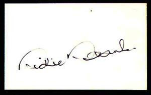 RICHIE ROBINSON-Cricket Autographed Index Card