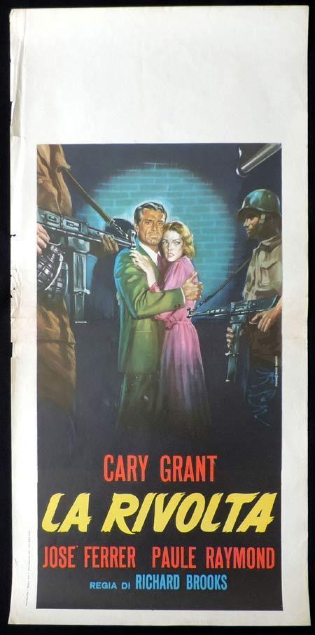 CRISIS Italian Locandina Movie Poster Cary Grant Jose Ferrer