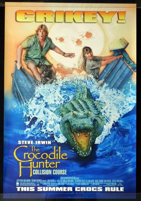 THE CROCODILE HUNTER 2002 Steve Irwin Crikey! US One sheet movie poster