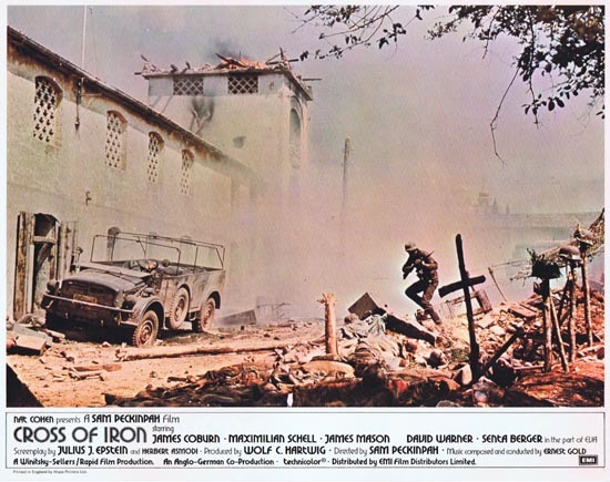 CROSS OF IRON Lobby card 1 1977 Sam Peckinpah James Coburn