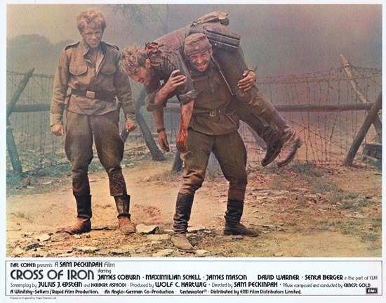 CROSS OF IRON Lobby card 2 1977 Sam Peckinpah James Coburn