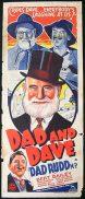"""DAD RUDD M.P 1940 Bert Bailley Australian Long daybill poster Style """"B"""""""