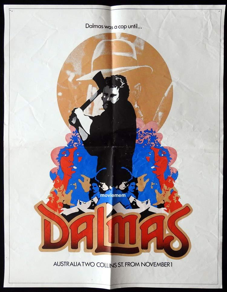 DALMAS One sheet Movie poster Bert Deling Australian Film