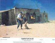 DAMNATION ALLEY Lobby Card 3 Jan-Michael Vincent George Peppard