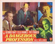 A DANGEROUS PROFESSION Original Lobby Card 5 George Raft Ella Raines Pat O'Brien RKO