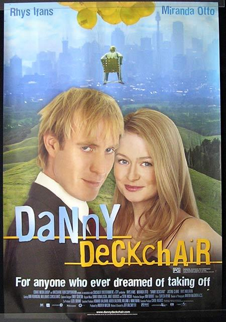 DANNY DECKCHAIR Movie poster 2003 Rhys Ifans Australian Cinema One sheet