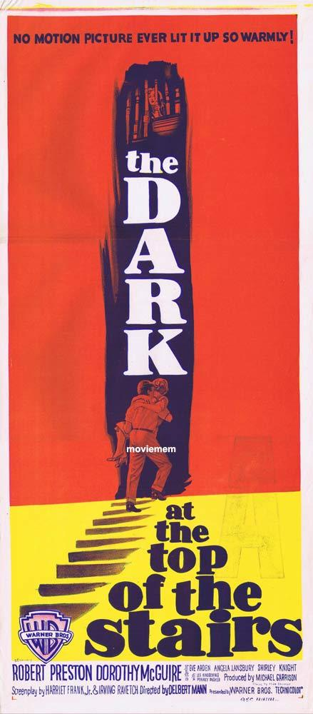 THE DARK AT THE TOP OF THE STAIRS Original Daybill Movie Poster Dorothy McGuire