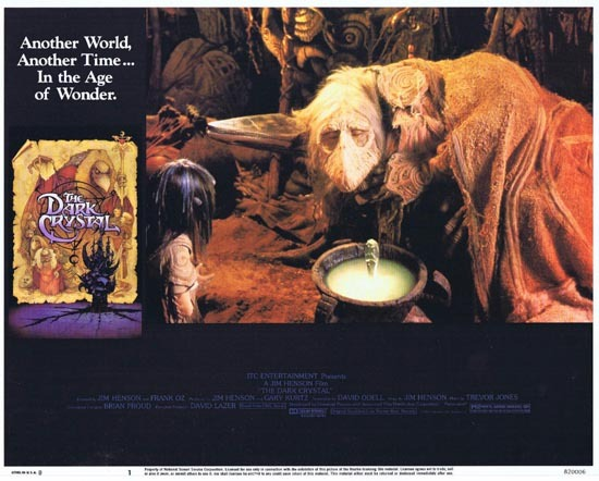 THE DARK CRYSTAL Lobby Card 1 1982 Jim Henson Frank Oz