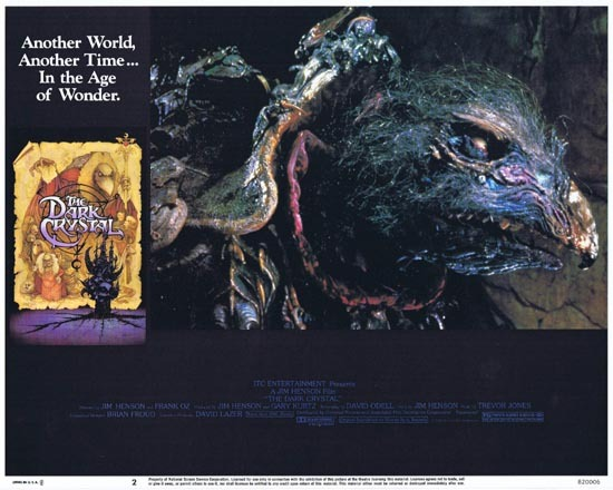 THE DARK CRYSTAL Lobby Card 2 1982 Jim Henson Frank Oz
