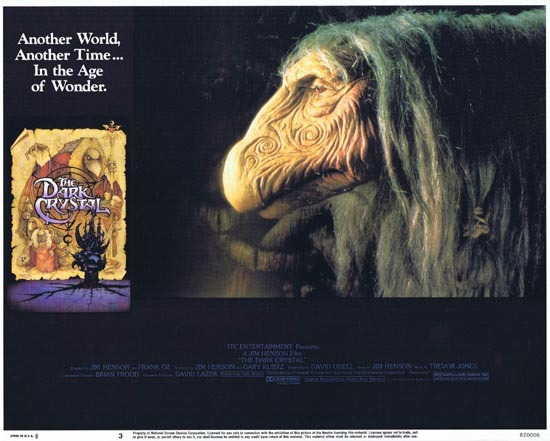 THE DARK CRYSTAL Lobby Card 3 1982 Jim Henson Frank Oz