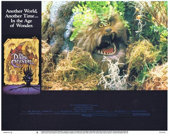 THE DARK CRYSTAL Lobby Card 8 1982 Jim Henson Frank Oz