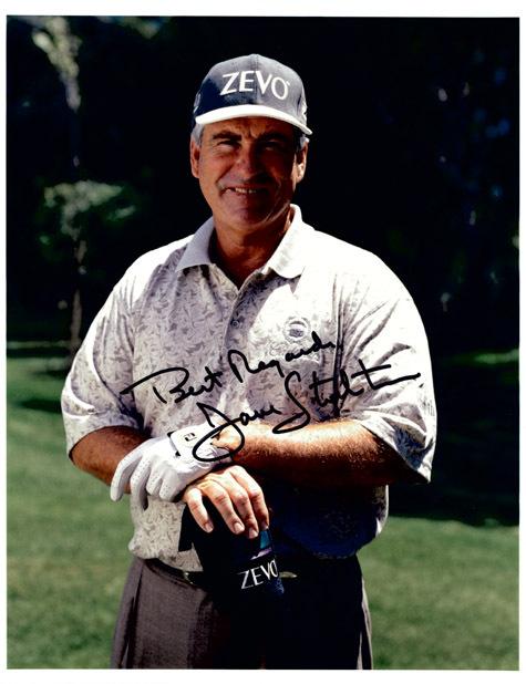 DAVE STOCKTON Autograph 8 X 10 Photo Golf
