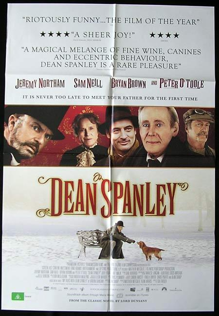 DEAN SPANLEY Movie Poster 2009 Scott Ryan Australian One sheet