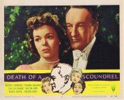 DEATH OF A SCOUNDREL Lobby Card 6 George Sanders RKO Yvonne De Carlo Zsa Zsa Gabor