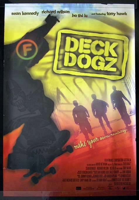 DECK DOGZ Sean Kennedy Movie Poster Australian One sheet
