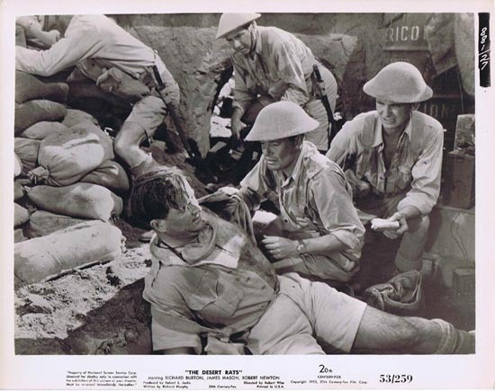 THE DESERT RATS 1953 Movie Still Photo 11 Charles Tingwell