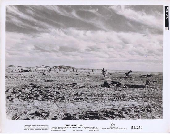 THE DESERT RATS 1953 Movie Still Photo 16 Anzac troops in the desert