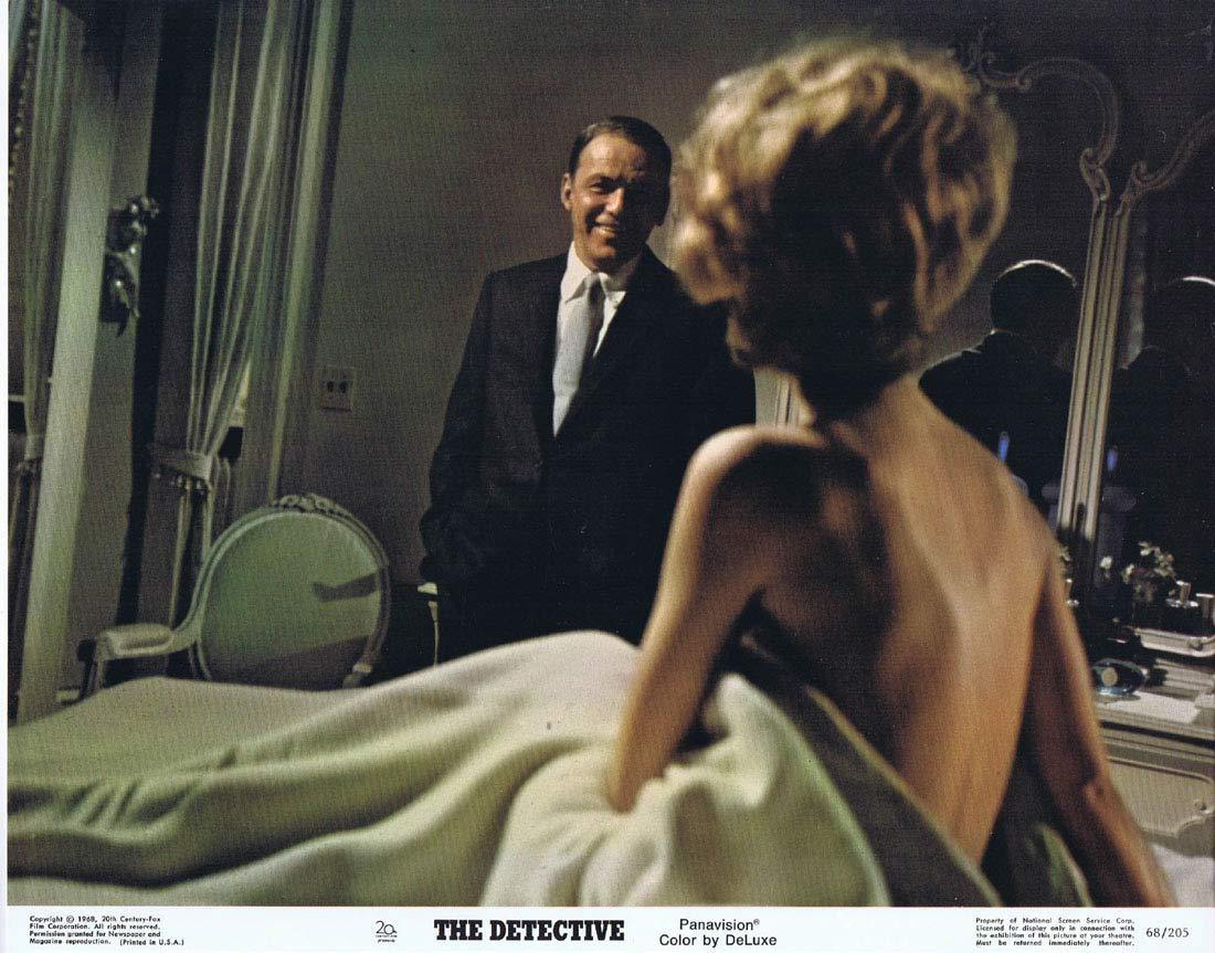 THE DETECTIVE Original Lobby Card 2 Frank Sinatra Lee Remick