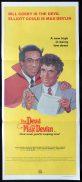 THE DEVIL AND MAX DEVLIN Original Daybill Movie poster Bill Cosby Elliott Gould