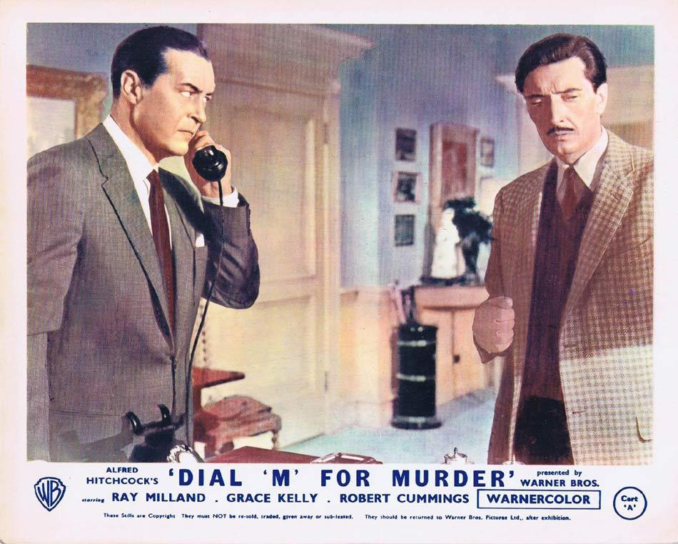 DIAL M FOR MURDER Front of House Movie Still 4 1954 8 x 10 Grace Kelly Alfred Hitchcock