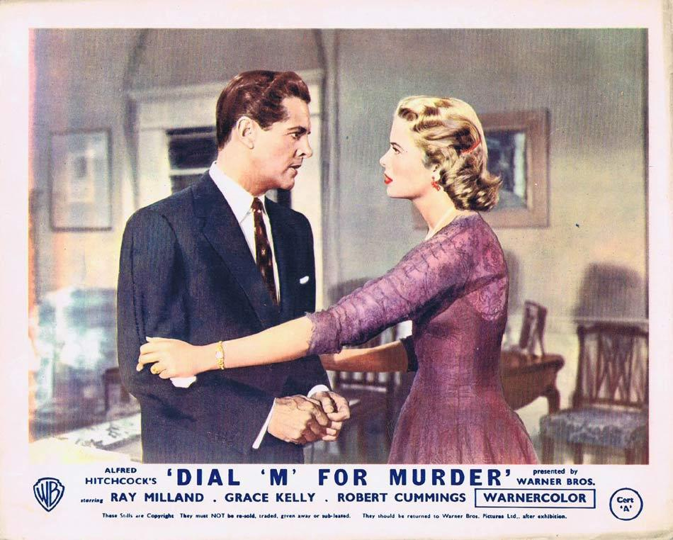 DIAL M FOR MURDER Front of House Movie Still 5 1954 8 x 10 Grace Kelly Alfred Hitchcock