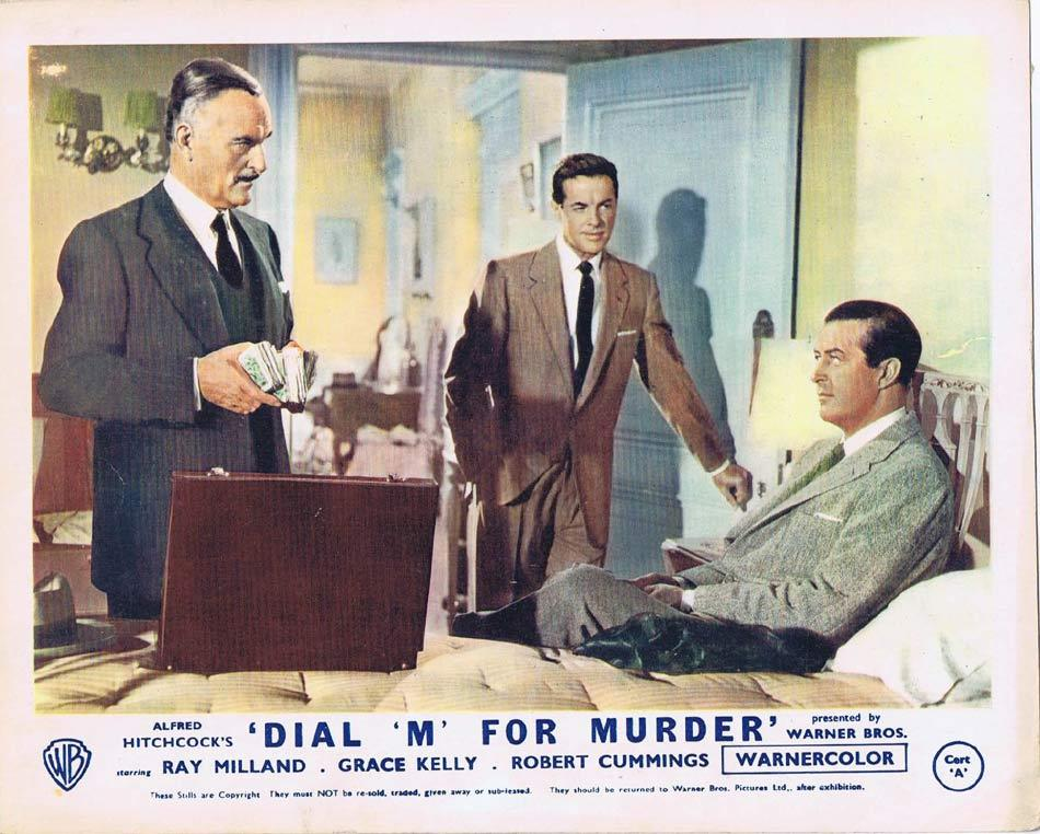 DIAL M FOR MURDER Front of House Movie Still 8 1954 8 x 10 Grace Kelly Alfred Hitchcock